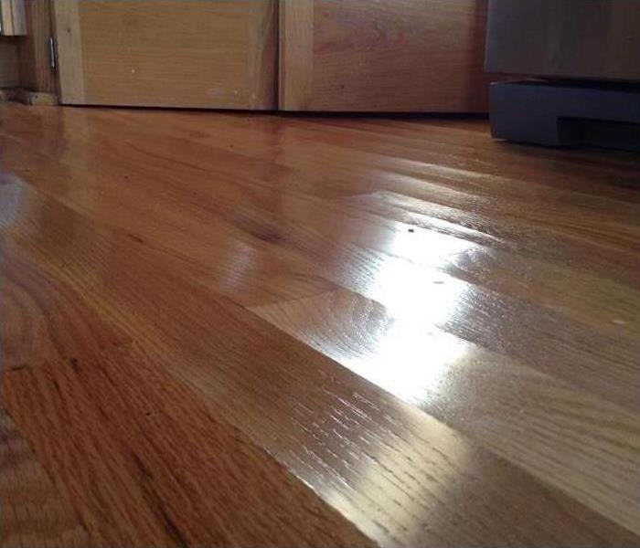 Water Damaged buckled Wood Floors
